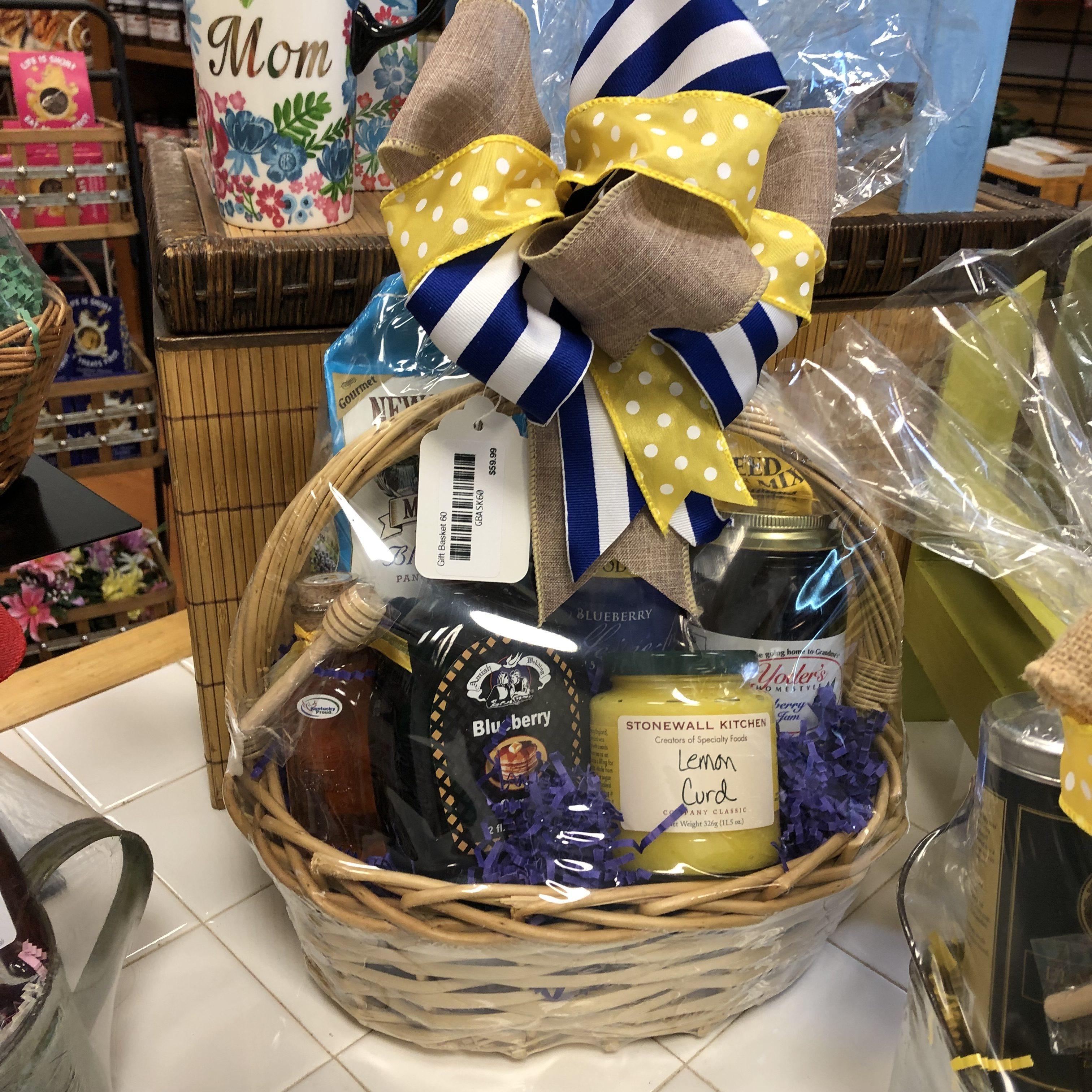 Lemon & Blueberry Gift Basket