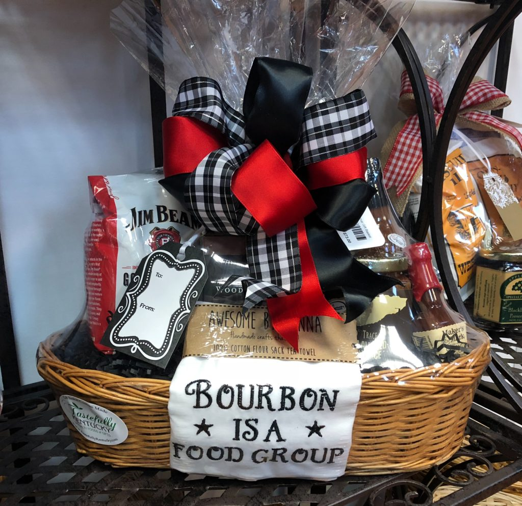 Bourbon Gift Basket
